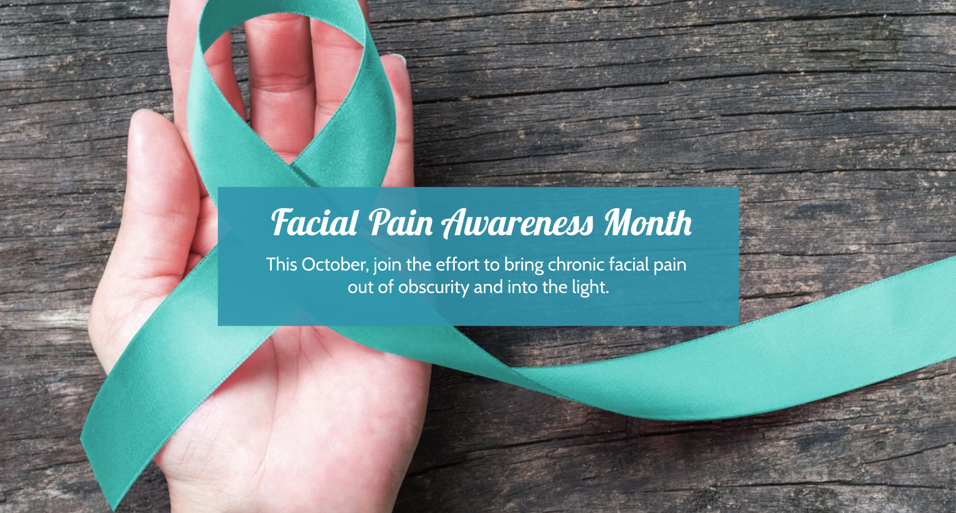 facial pain awareness month